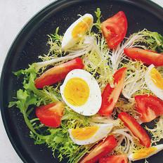 番茄水煮蛋沙拉【减脂食谱】
