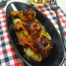 洋葱焖鸡翅根(电饭锅)