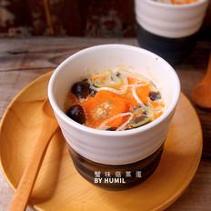 蟹味菇蒸蛋