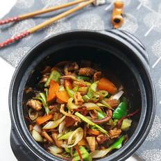 杂蔬啫啫鱿鱼煲