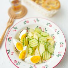 青苹果黄瓜沙拉