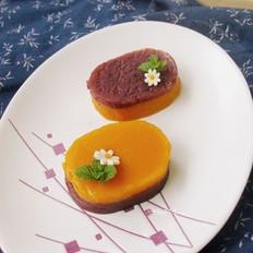 蜜薯红豆马蹄糕