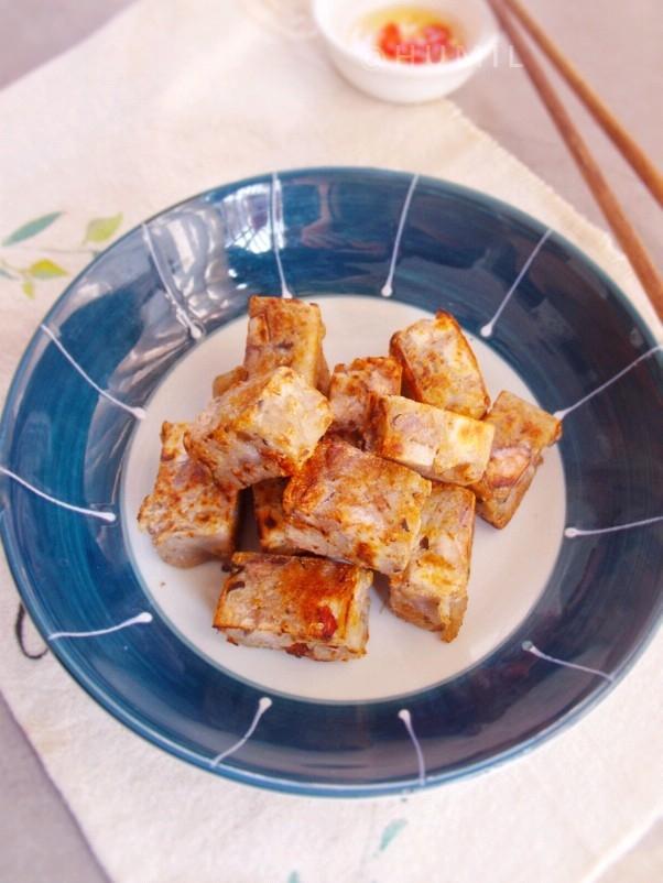 香煎芋头糕粒