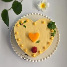 免烤芒果慕斯蛋糕