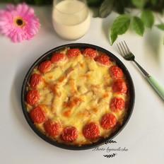 土豆丝培根披萨
