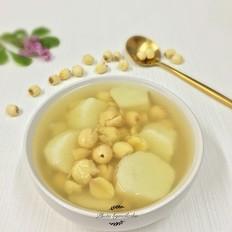 淮山莲子甜汤