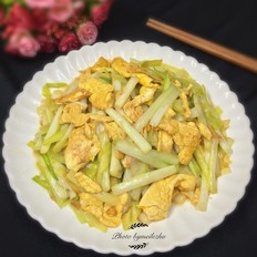 韭黄炒鸡蛋