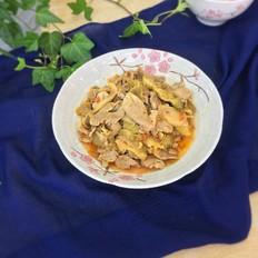 榨菜炒肉片
