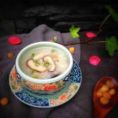 香菇干贝粥