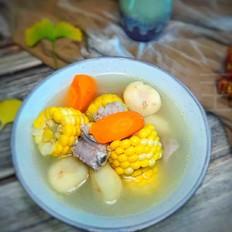 胡萝卜马蹄玉米炖排骨