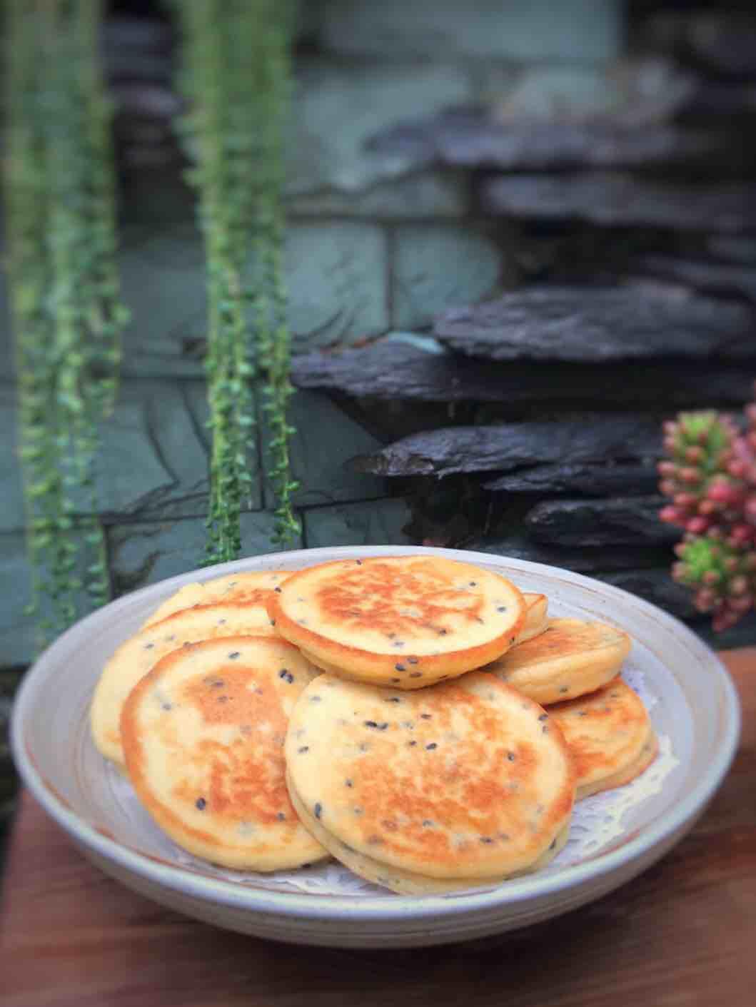 黄豆鸡蛋早餐饼