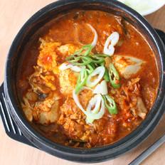 辣炖嫩豆腐汤