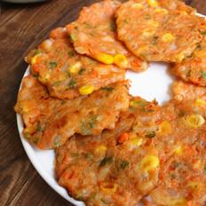 虾仁玉米小煎饼