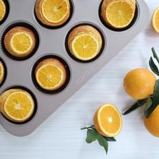 鲜橙蛋糕,果香浓郁的下午茶小点