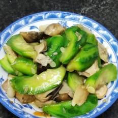 草菇炒丝瓜