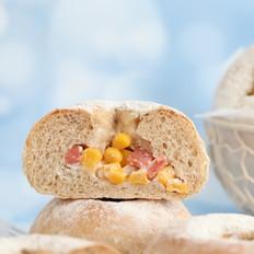 玉米粒全麦餐包