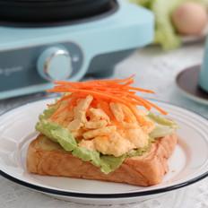 开放式三明治