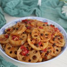 青花椒藕片