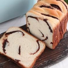 #冬至大如年#+面包机版豆沙吐司