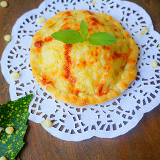 向日葵玉米奶酪派