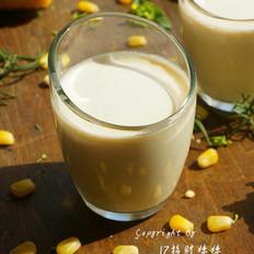 玉米燕麦奶露