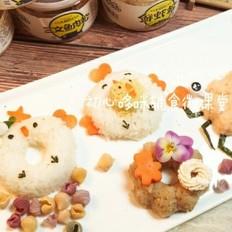 宝宝辅食:甜甜圈饭团