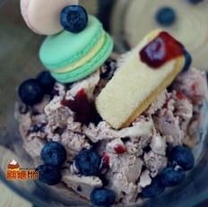 覆盆子蔓越莓冰激凌