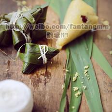 黄粟米小枣粽子