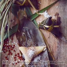 江米豆沙粽子