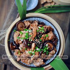香菇蒸滑鸡