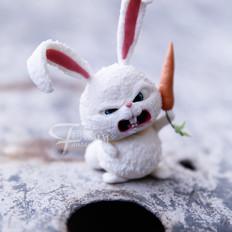 翻糖兔子玩偶制作