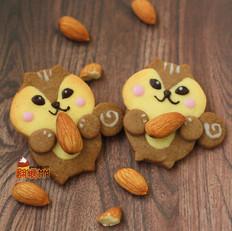 松鼠狸猫动物饼干
