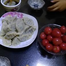 韭菜鸡蛋粉条饺子