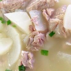 简版白萝卜排骨汤