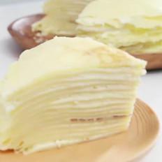 榴莲班戟千层蛋糕