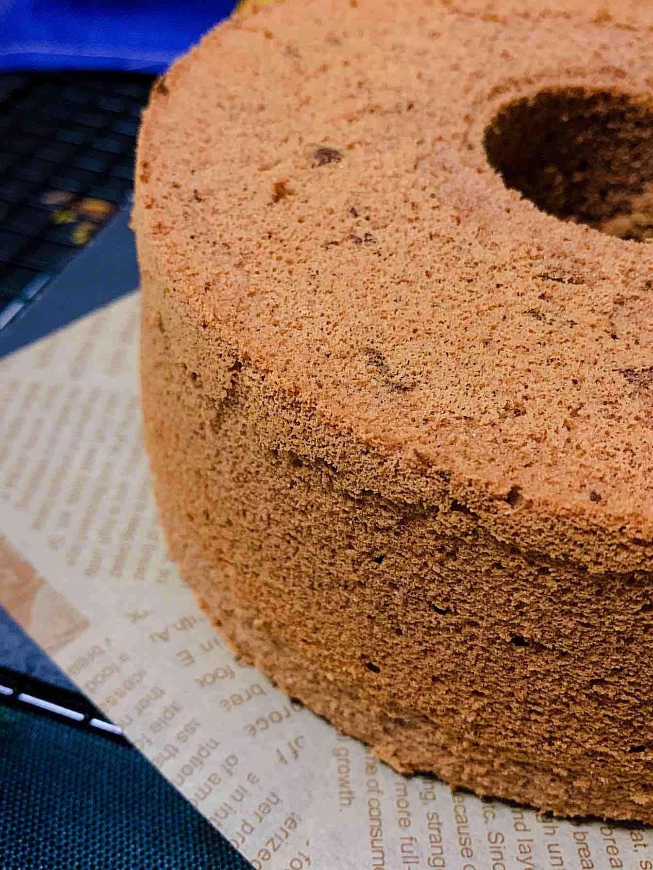 超湿润的可可戚风蛋糕的做法