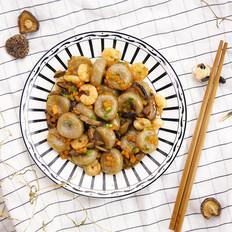 弹美味的虾仁炒算盘子