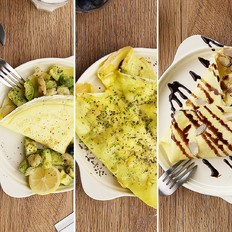 可丽饼的5种做法|太阳猫早餐