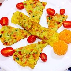 果树蛋饼早餐