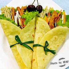 中式墨西哥时蔬鸡柳卷