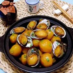 鲍鱼炖小土豆