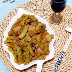 鲜肉炖花芸豆