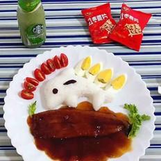 鳗鱼海豚饭