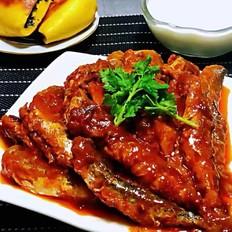 香酥茄汁鲐鲅鱼