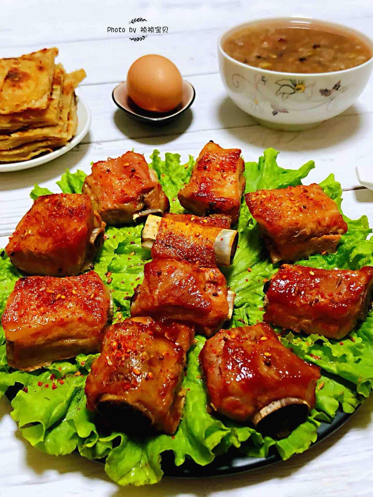 奥尔良烤猪小排的做法大全