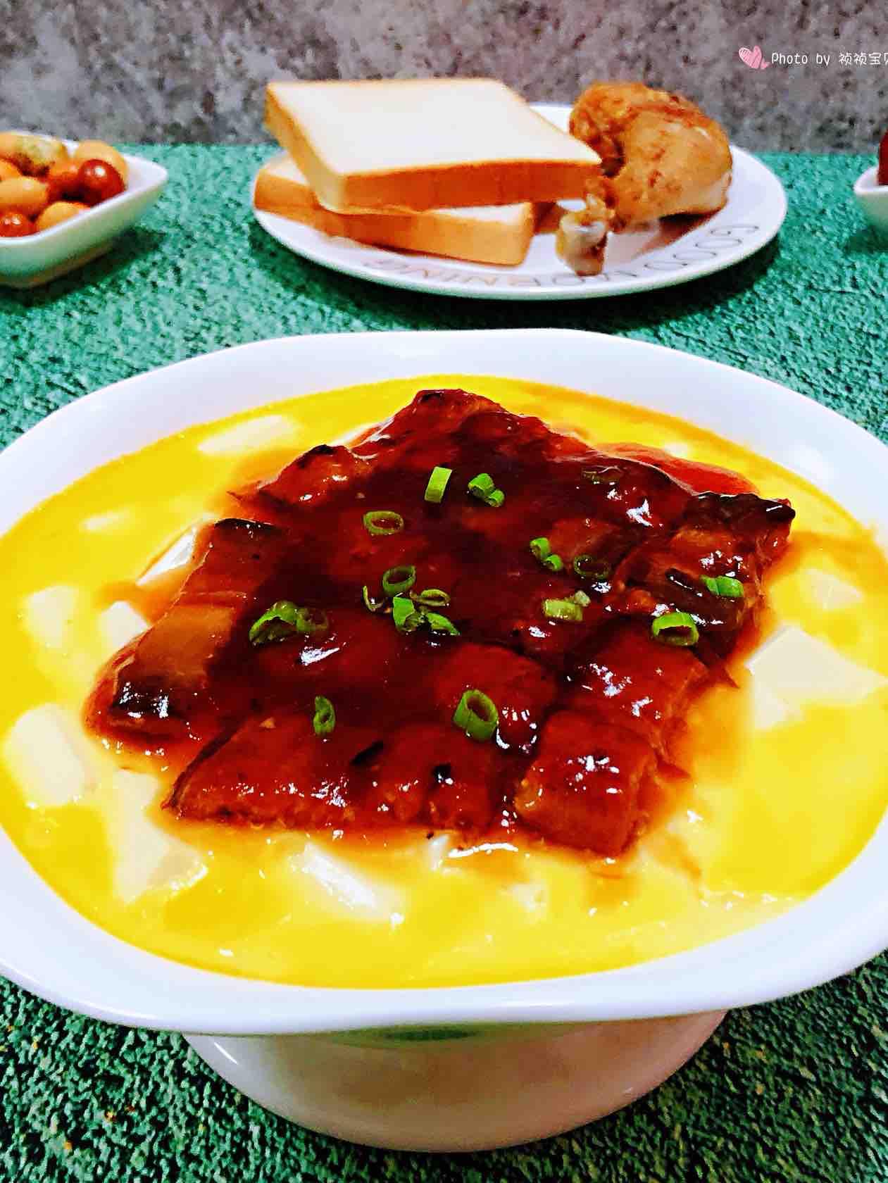 鳗鱼豆腐鸡蛋羹