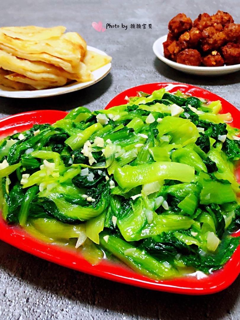蒜蓉小白菜