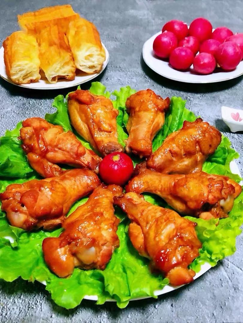 奥尔良烤鸡翅根的做法