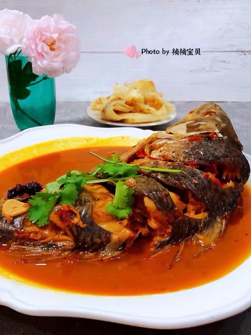 酱焖鲤鱼的做法