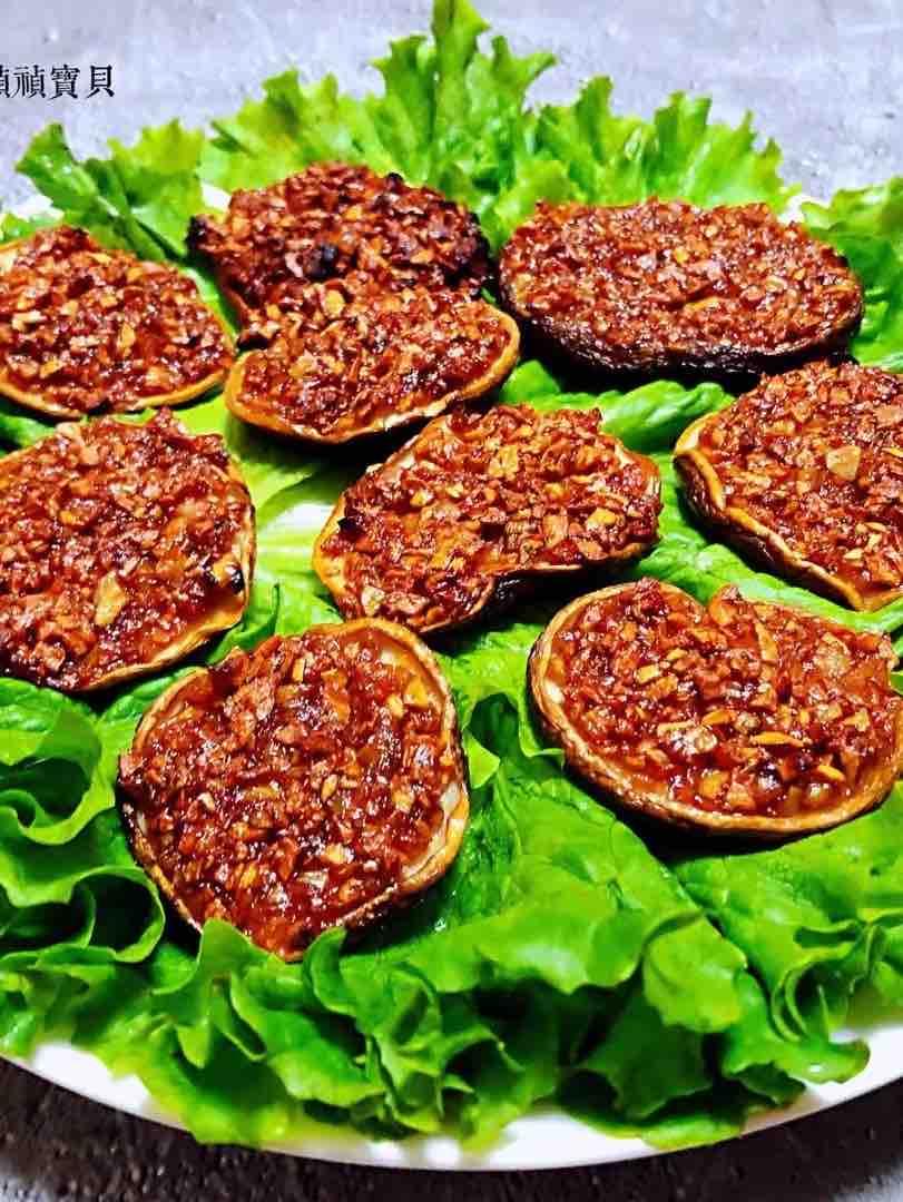 蚝油蒜蓉烤香菇的做法